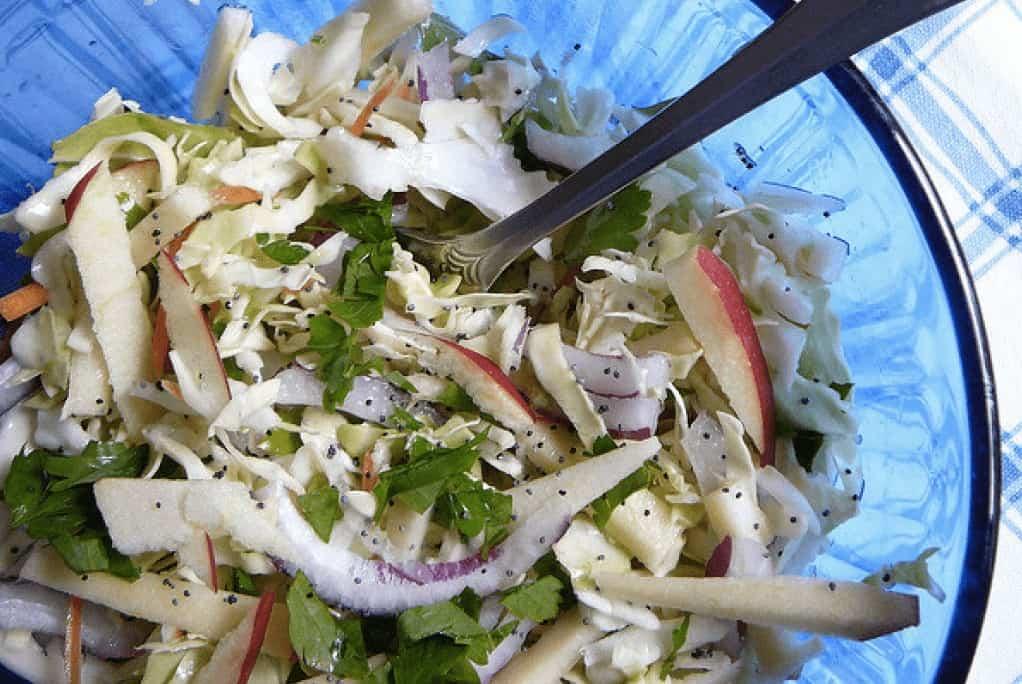 HCG diet recipe for apple slaw