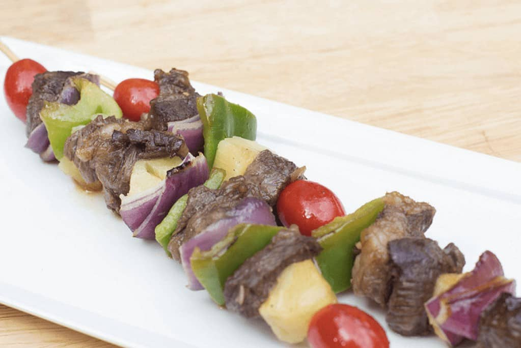 HCG diet recipe for beef kabobs