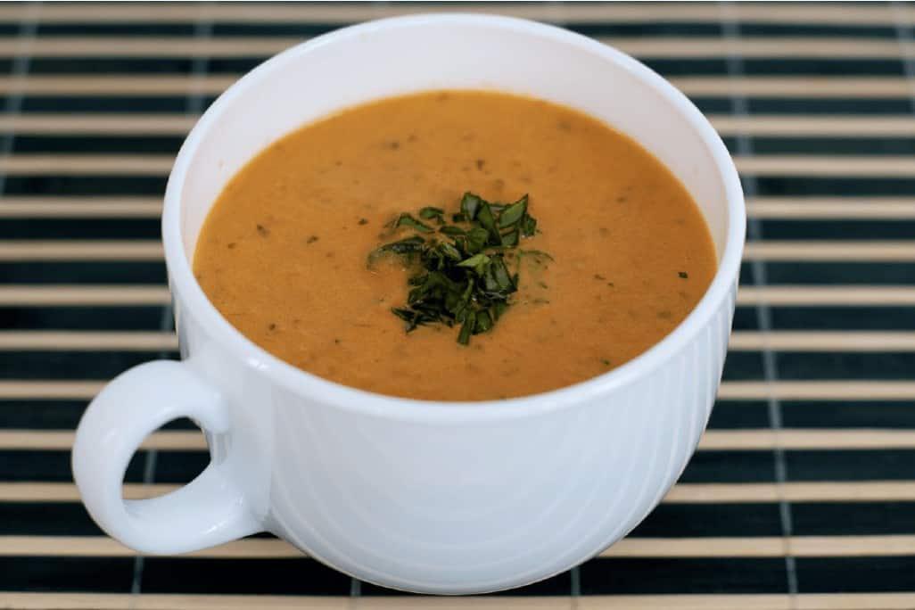 HCG diet recipe for basil tomato soup