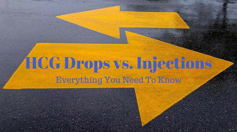 HCG Drops vs. Injections