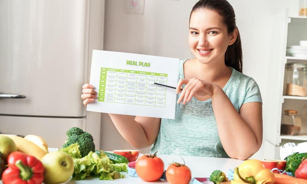 HCG Servings Limit – Meal Schedule